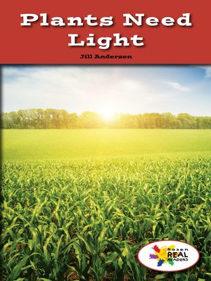 cover image of Plants Need Light