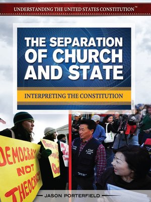 cover image of The Separation of Church and State