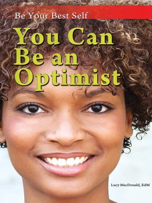 cover image of You Can Be an Optimist