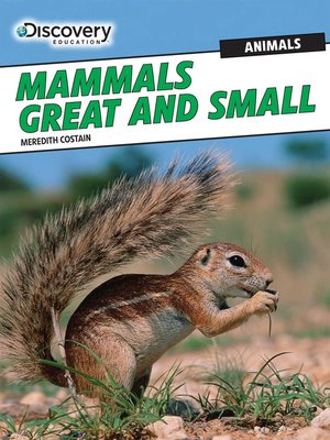 cover image of Mammals Great and Small