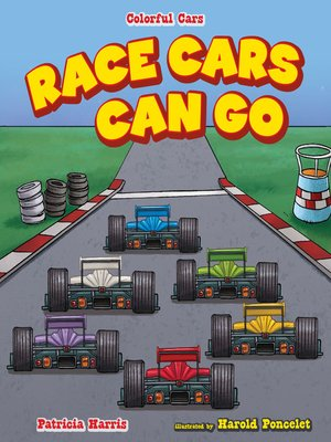 cover image of Race Cars Can Go Fast