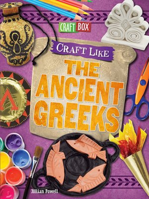 cover image of Craft Like the Ancient Greeks