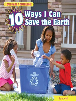 cover image of 10 Ways I Can Save the Earth