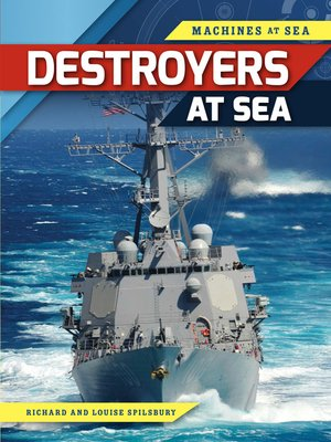 cover image of Destroyers at Sea
