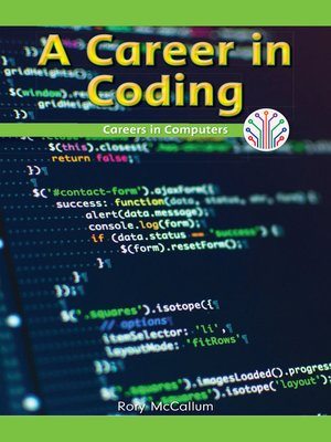 cover image of A Career in Coding