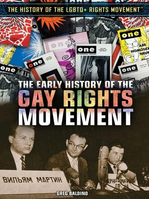 cover image of The Early History of the Gay Rights Movement