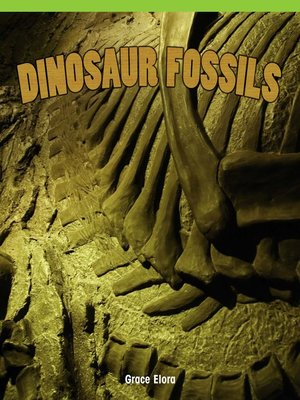 cover image of Dinosaur Fossils