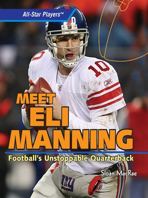 cover image of Meet Eli Manning