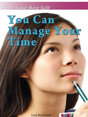 cover image of You Can Manage Your Time