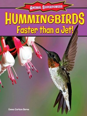 cover image of Hummingbirds: Faster Than a Jet!
