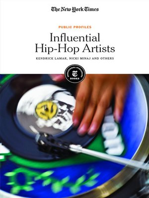 cover image of Influential Hip-Hop Artists