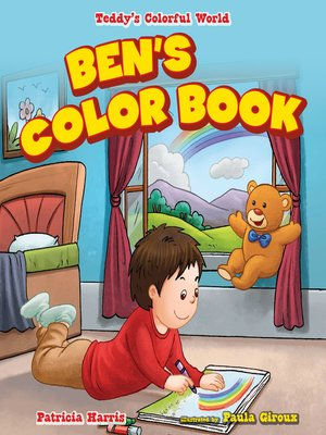 cover image of Ben's Color Book