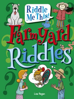 cover image of Farmyard Riddles