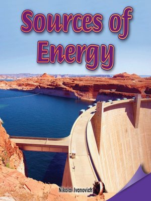 cover image of Sources of Energy