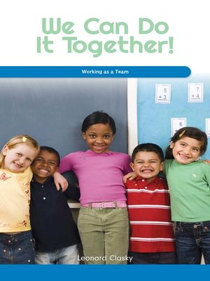 cover image of We Can Do It Together!