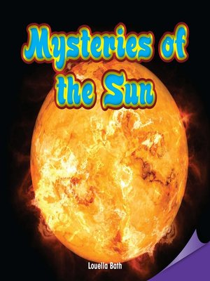 cover image of Mysteries of the Sun