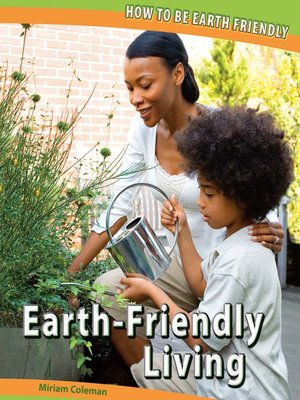 cover image of Earth-Friendly Living