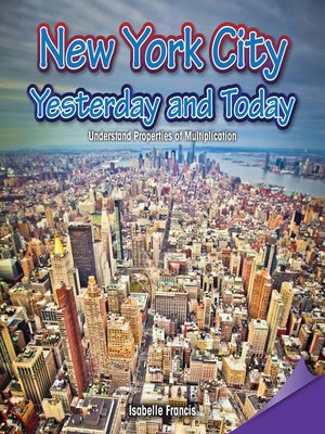 cover image of New York City: Yesterday and Today