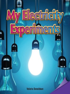 cover image of My Electricity Experiments