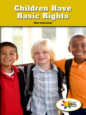 cover image of Children Have Basic Rights