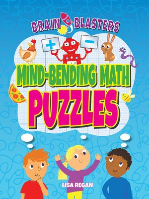 cover image of Mind-Bending Math Puzzles