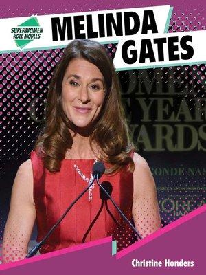 cover image of Melinda Gates