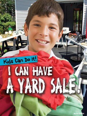 cover image of I Can Have a Yard Sale!