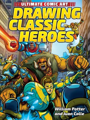 cover image of Drawing Classic Heroes