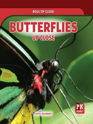 cover image of Butterflies Up Close