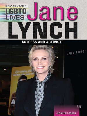 cover image of Jane Lynch