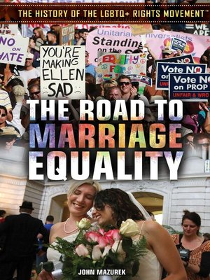 cover image of The Road to Marriage Equality