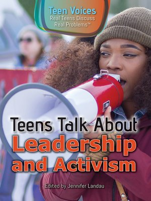 cover image of Teens Talk About Leadership and Activism
