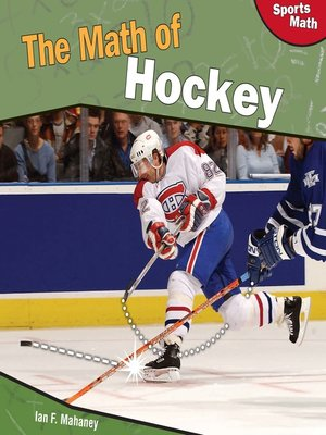 cover image of The Math of Hockey