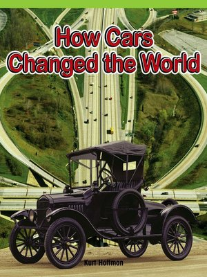 cover image of How Cars Changed the World