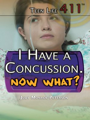 cover image of I Have a Concussion. Now What?