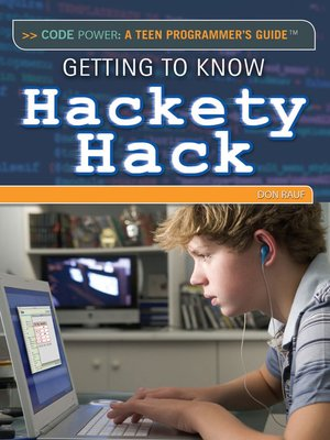 cover image of Getting to Know Hackety Hack