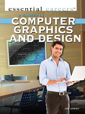 cover image of A Career in Computer Graphics and Design