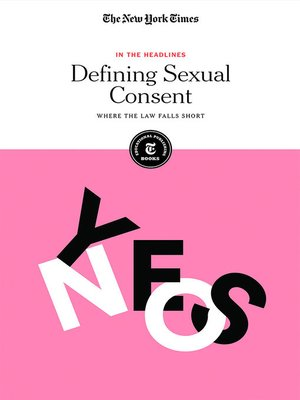 cover image of Defining Sexual Consent