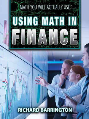 cover image of Using Math in Finance