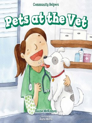 cover image of Pets at the Vet