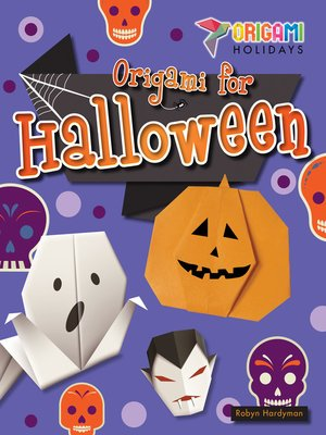 cover image of Origami for Halloween
