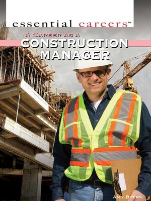 cover image of A Career as a Construction Manager