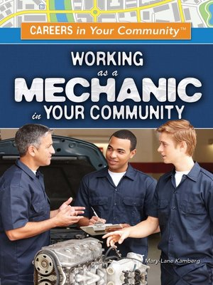 cover image of Working as a Mechanic in Your Community