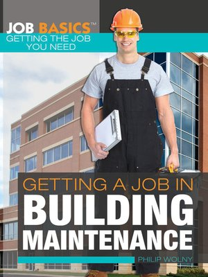 cover image of Getting a Job in Building Maintenance