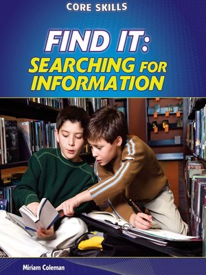 cover image of Find It