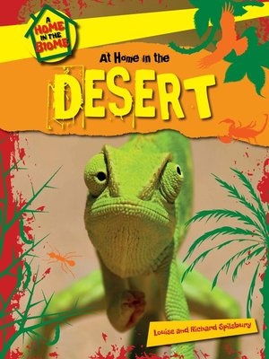 cover image of At Home in the Desert