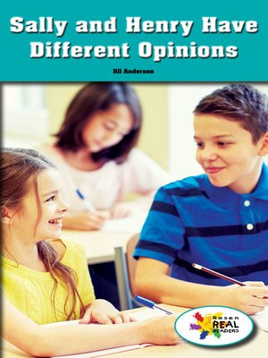 cover image of Sally and Henry Have Different Opinions