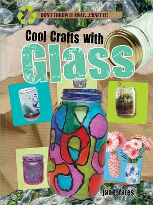 cover image of Cool Crafts with Glass
