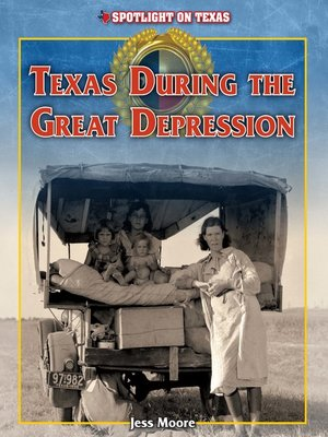 cover image of Texas During the Great Depression