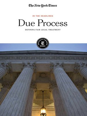 cover image of Due Process